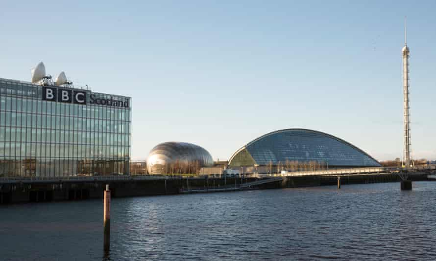 The Glasgow science centre, next to the BBC, on the opposite side of the Clyde from the main conference site.