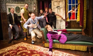 The Play That Goes Wrong transferred from the Old Red Lion to the West End in 2014.