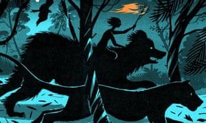 Bill Bragg's reimagining of a scene from Rudyard Kipling's The Jungle Book.