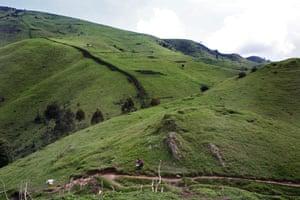 The road to Numbi, South Kivu