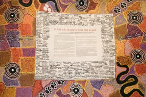 The Uluru statement of the Heart.