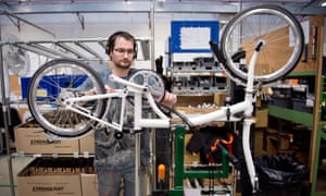 Brompton has enjoyed a fivefold increase in online sales since the start of April.