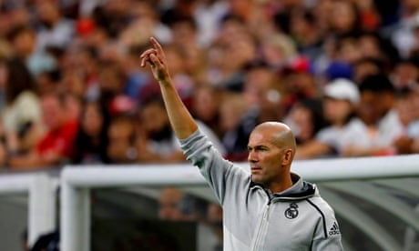 'It's not personal': Zinedine Zidane on Gareth Bale's imminent Real Madrid exit – video