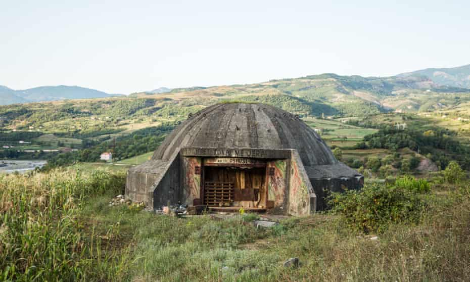 The late dictator Enver Hoxha built a network of bunkers
