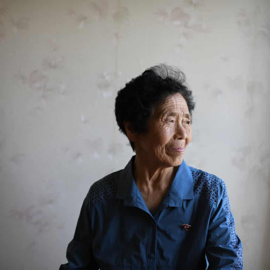 Head shot of Akiko Ota, who left for North Korea in 1967, after marrying in 1965