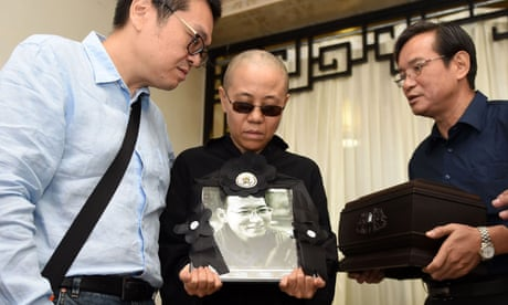 China accused over 'enforced disappearance' of Liu Xiaobo's widow