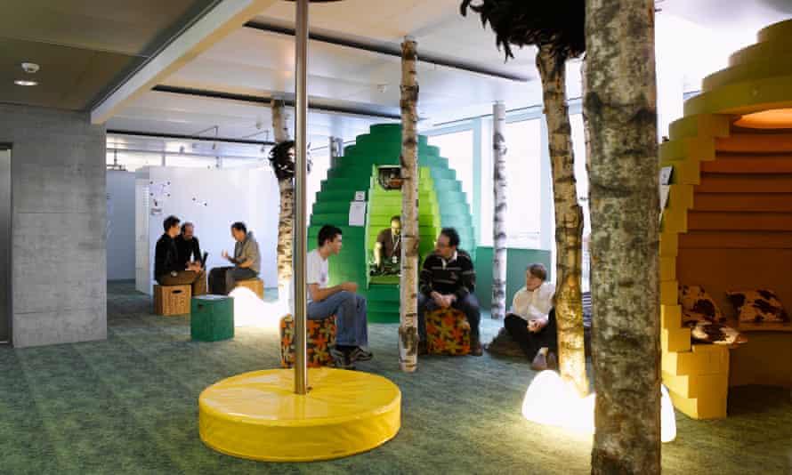 Inside the Google office in Zurich, Switzerland
