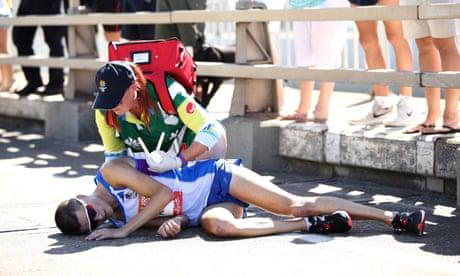 Marathon experts condemn delay in treatment to collapsed Callum Hawkins