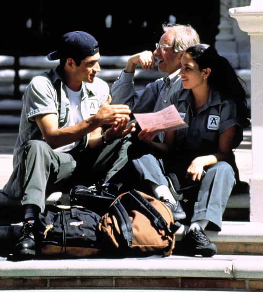 Ken Loach Adrien Brody and Pilar Padilla