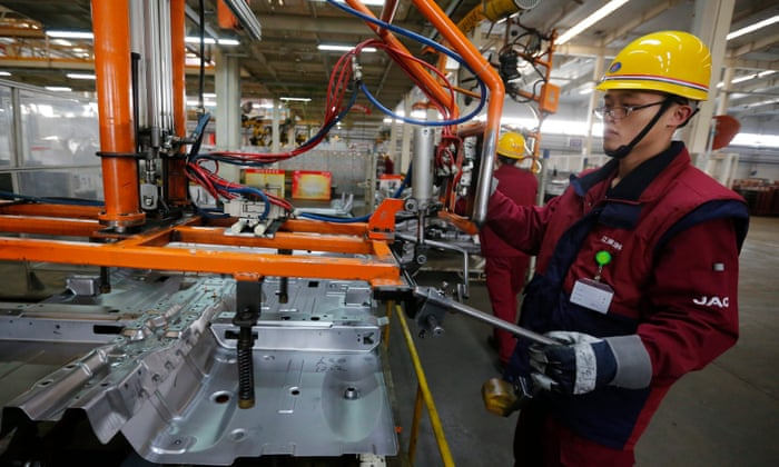 China manufacturing sector shrinks at fastest rate for more