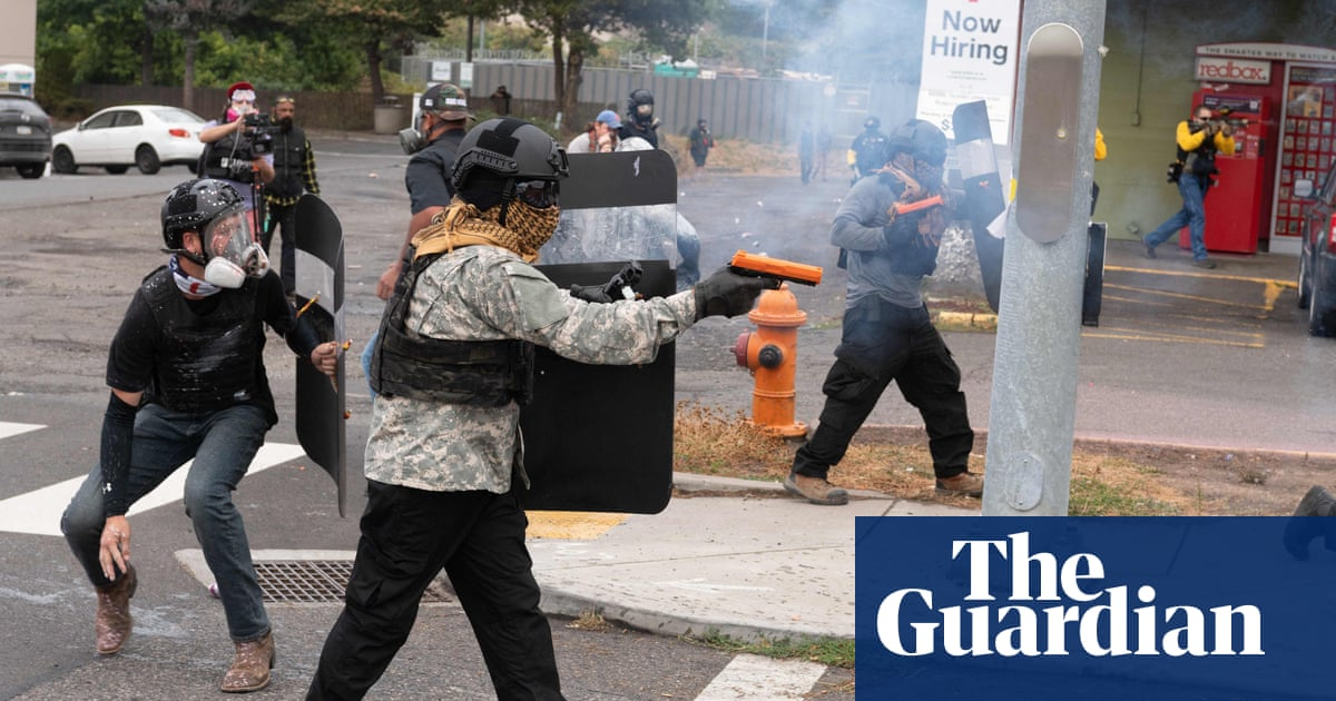 Portland gunfight fuels alarm over growing use of weapons at rallies