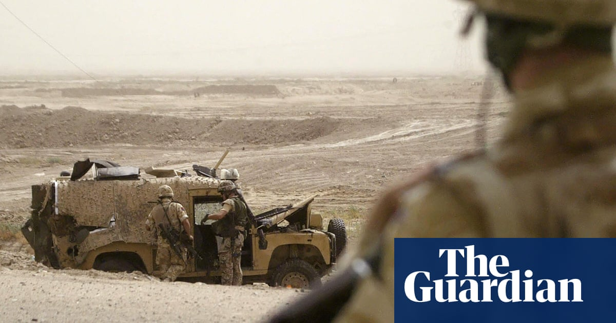 British government and army accused of covering up war crimes