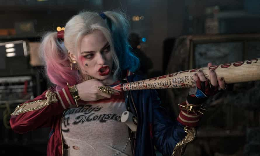 Batting for team femme ... Margot Robbie in Suicide Squad.
