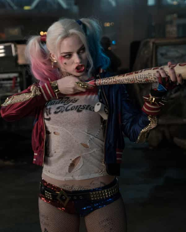 The smart money is against them ... Margot Robbie as Harley Quinn in Suicide Squad.