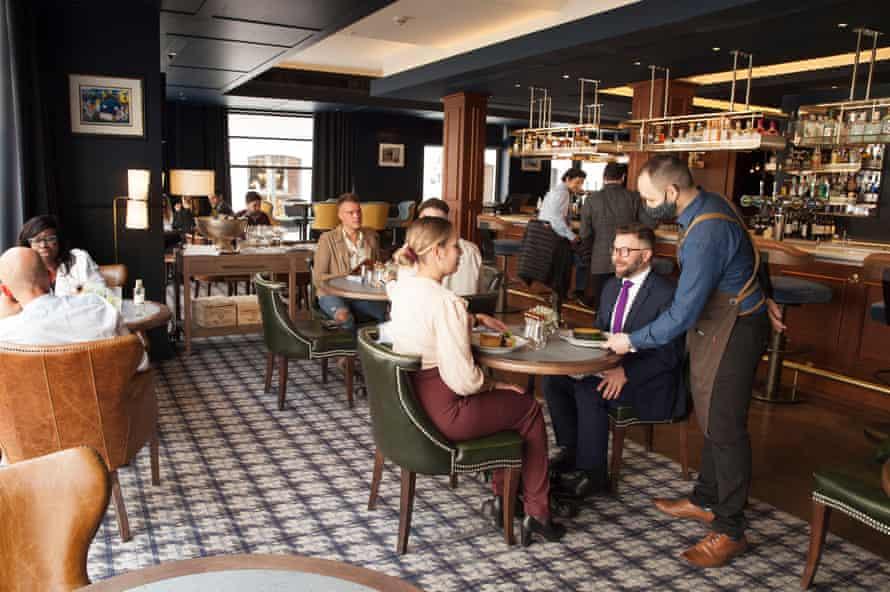 Blue Boar pub, Westminster, London.