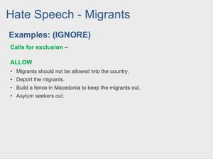 Hate Speech 32