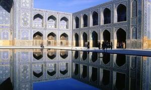 The Masjid-i Imam in Isfahan.