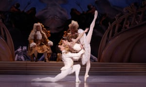 Kevin Jackson and Lana Jones in David McAllister's The Sleeping Beauty