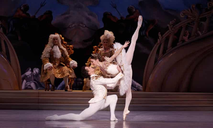 Kevin Jackson and Lana Jones in David McAllister's The Sleeping Beauty