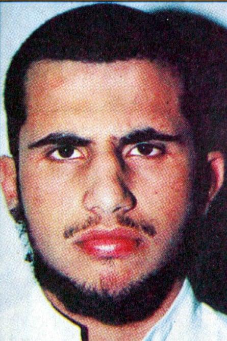 A 2002 photograph of Muhsin al-Fadhli, from the al-Watan Kuwaiti newspaper
