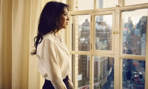 Amy Chua at her apartment in New York City.