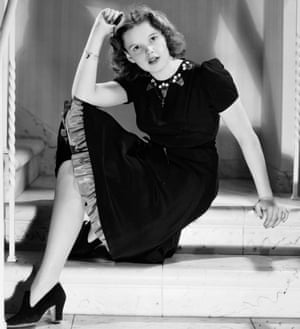 Garland in 1939, the year she made The Wizard of Oz.