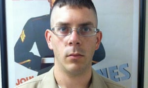 Dillon Hopper served in Afghanistan and Iraq. His active duty with the marines ended in January this year.