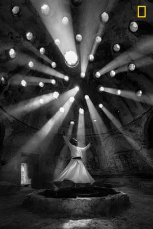 Whirling dervish in Sille Konya