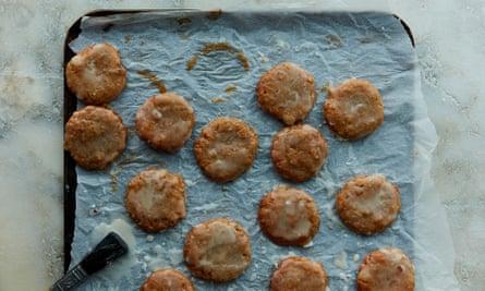 Anna Jones' citrus, honey and almond lebkuchen