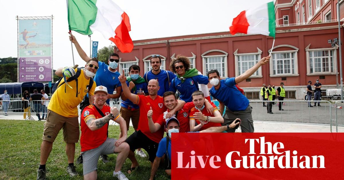 Italy v Wales: Euro 2020 – live!
