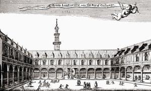 The Royal Exchange, Cornhill, London.