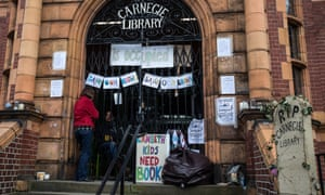 The occupation of Carnegie library in Lambeth which ended on Saturday.