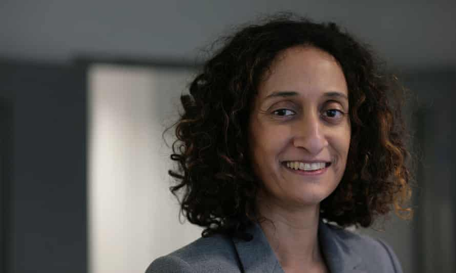 Katharine Birbalsingh, headteacher of Michaela community school in Brent, north London.