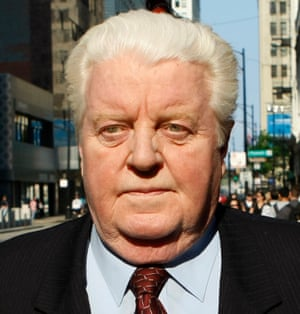 Former Chicago police Lt Jon Burge, who was was convicted of obstruction of justice.