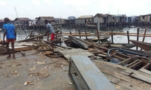 Makoko floating school collapse