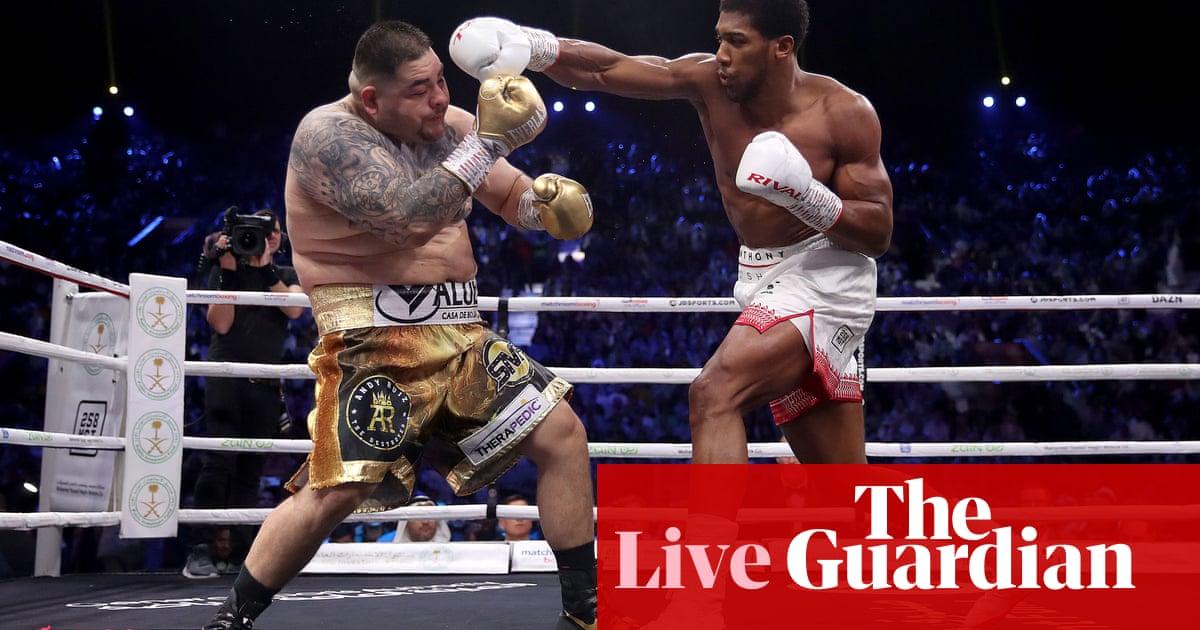 Anthony Joshua v Andy Ruiz: world heavyweight boxing rematch – live!