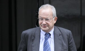 Lord David Sainsbury leaving a cabinet meeting at No10 Downing Street in 2009.