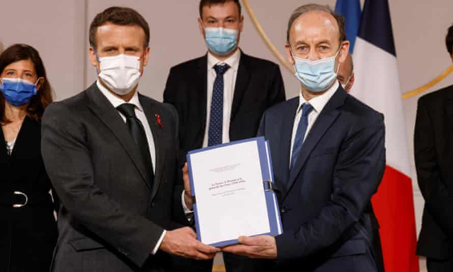 The 1,200-page report being presented to Macron on Friday by the historian Vincent Duclert