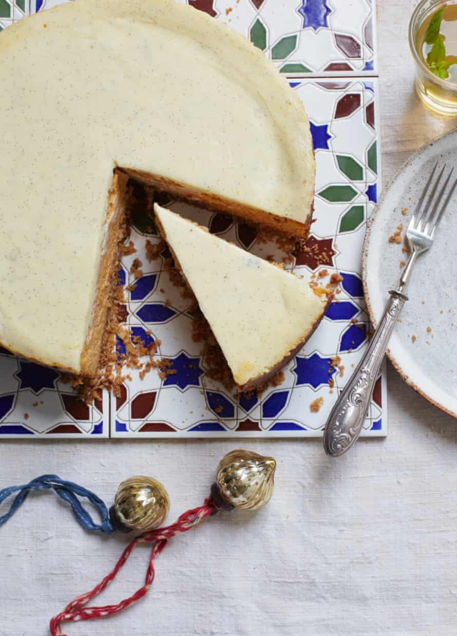 Itamar Srulovich and Sarit Packer's butternut squash and spice cheesecake: one slice may not be enough.