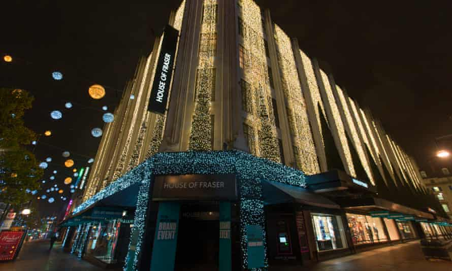 House of Fraser's gift card scheme ran into trouble when the chain was bought up by Sports Direct.