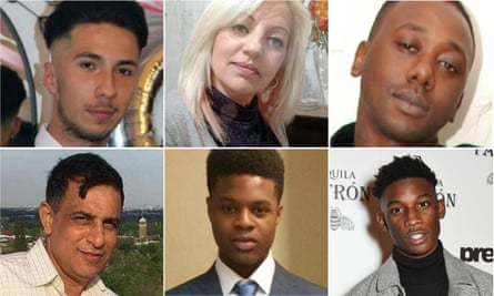 (L-R clockwise): Steve Frank Narvaez-Jara, Elizabeta Lacatusu, Daniel Frederick, Harry Uzoka, Oluwadamilola Odeyingbo and Vijay Patel.