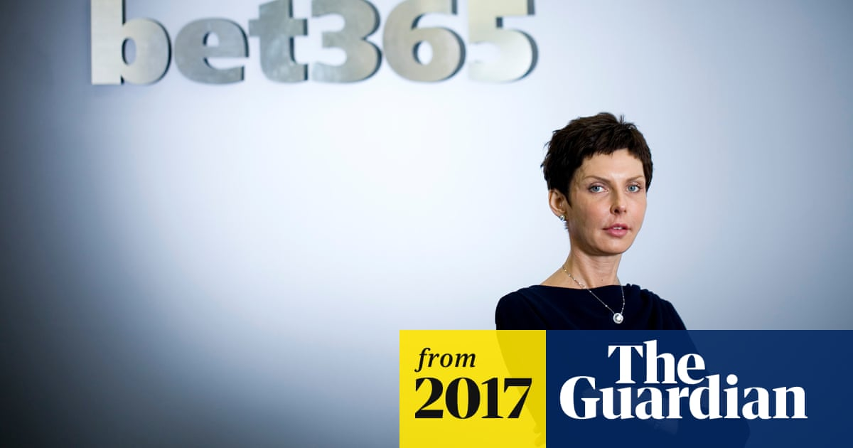 Bet365 chief Denise Coates paid herself £217m last year
