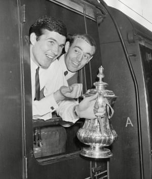 Pictured At Euston with YeatsTaking The Fa Cup Back To Anfield For The First Time In Liverpool's 73 Year History After Liverpool Beat Leeds In The Fa Cup Final.