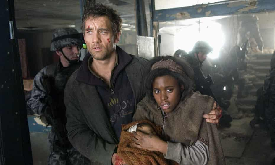 Clive Owen and Clare-Hope Ashitey in 2006's Children of Men