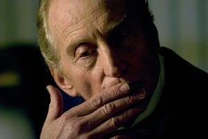 Charles Dance as Tulkinghorn in the BBC adaptation of Charles Dickens's Bleak House.