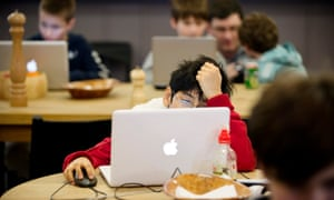 'We need children who can hack and code.'