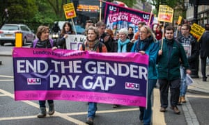 University lecturers in London protest over pay in 2016.