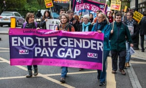 University lecturers and supporters march in London in 2016.
