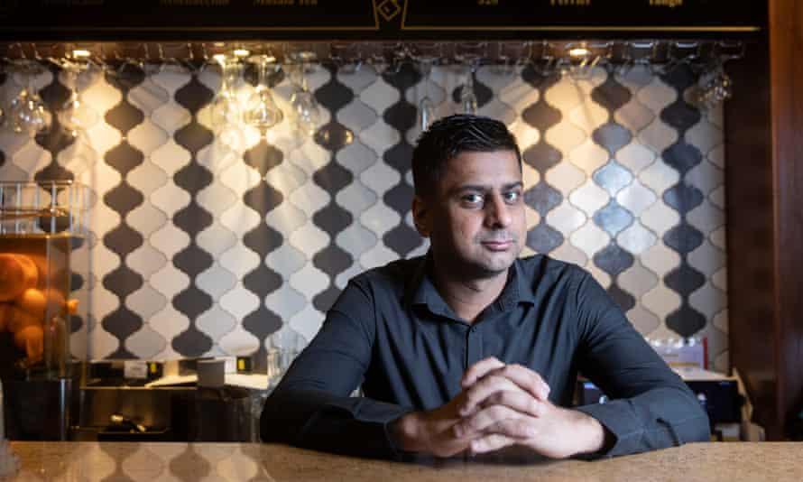 Zafar Hussain, owner of Shababs Balti Restaurant.
