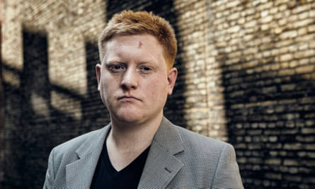 'I'd like parliament to stop patronising the young': Jared O'Mara outside Portcullis House in Westminster